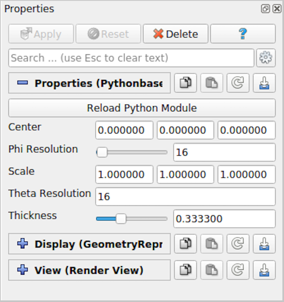 ParaView/Images/PropertiesForPythonSuperquadricSource.png